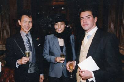 Andy Wong, Mrs Andy Wong and Holger Kaus