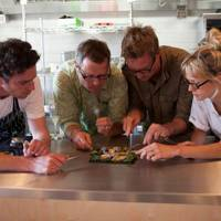 Stef Smith, Steven Lamb, Gill Mellor and Hugh Fearnley-Whittingstall