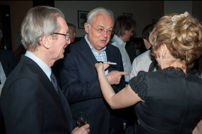 David Montgomery, Martyn Lewis and Rachel Kelly