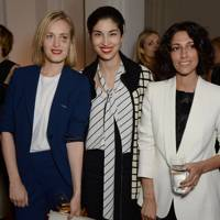 Polly Morgan, Caroline Issa and Yasmin Sewell