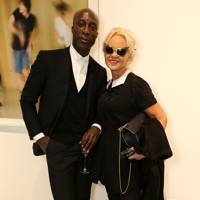 Amanda Eliasch and Ozwald Boateng