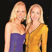 Victoria Pattinson and Lizzy Pattinson