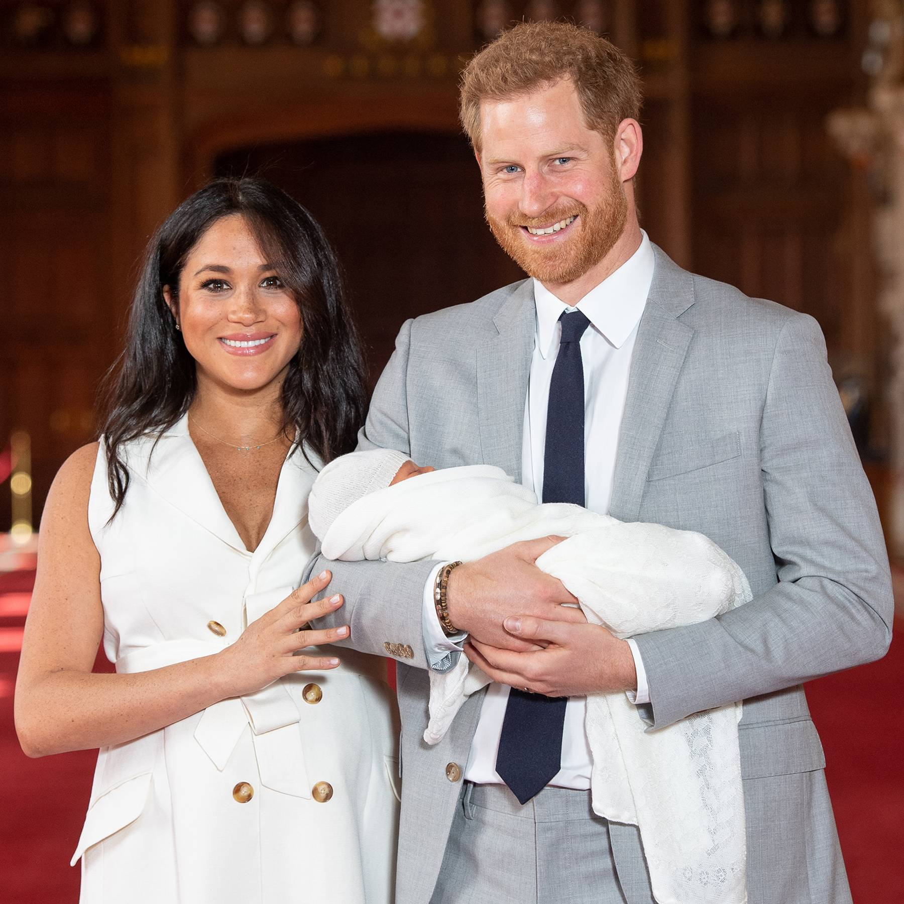 See the first picture of Royal Baby Sussex