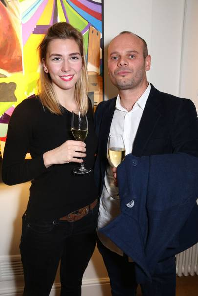 Emma Tobin and Enzo Barracco