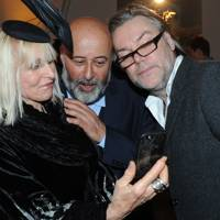 Virginia Bates, Richard Young and David Downton