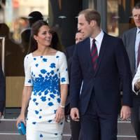 The Duke of Cambridge and the Duchess of Cambridge