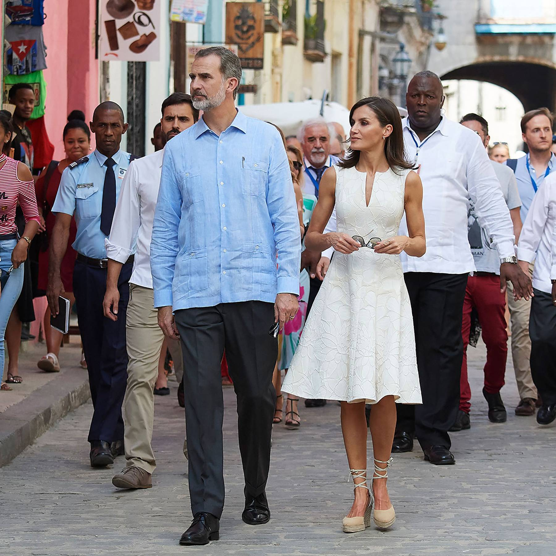 Spanish royals are first to visit Cuba on official state visit in 500 years