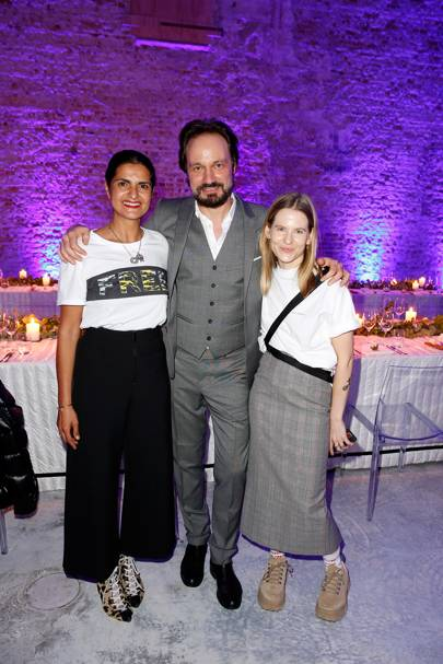Leyla Piedayesh, Mario Eimuth and Aino Laberenz