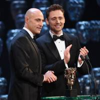 Mark Strong and Tom Hiddleston