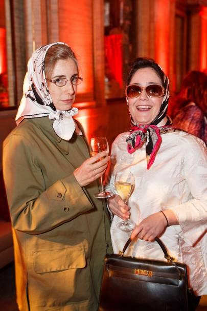 Fiona Rushton and Almudena Izquierdo