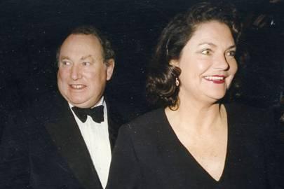 Anthony Oppenheimer and Mrs Anthony Oppenheimer