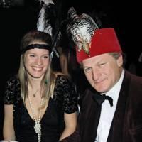 Jessica Palmer-Tomkinson and Geoffrey Probert
