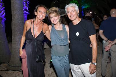 Emme Gex, Avery Agnelli and John Frieda