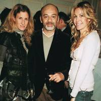 Mrs Nabil Fattal, Christian Louboutin and Mrs Nicolas De Santis