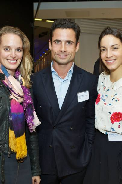 Annabel Kilner, Leo Fenwick and Jessica Crawley