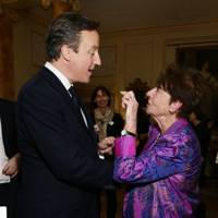 David Cameron and Margeret Owen