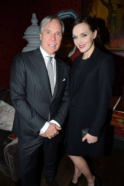 Tommy Hilfiger and Victoria Pendleton