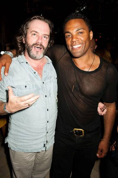 Gregory Doran and Ray Fearon
