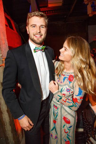 Harry Wentworth-Stanley and Cressida Bonas