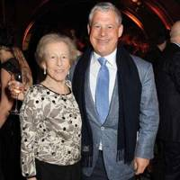 Cameron Mackintosh and Diana Mackintosh