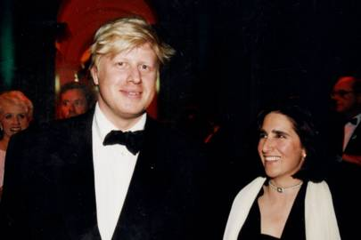 Boris Johnson and Mrs Boris Johnson