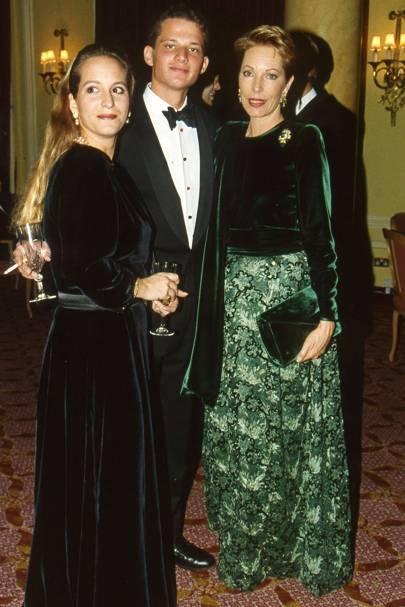 Princess Zara Aga Khan, George Duffield and the Begum Aga Khan