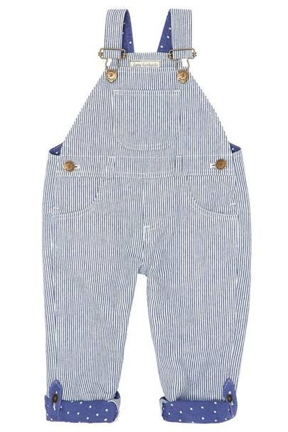 Dotty Dungarees striped dungarees