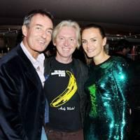 Tim Jefferies, Philip Treacy and Masha Markova