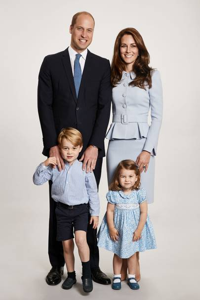 The Duke of Cambridge, the Duchess of Cambridge, Prince George and Princess Charlotte