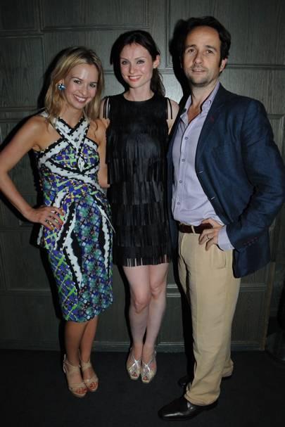 Marissa Hermer, Sophie Ellis-Bexter and Matt Hermer