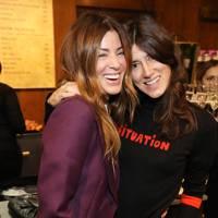 Sara MacDonald and Bella Freud
