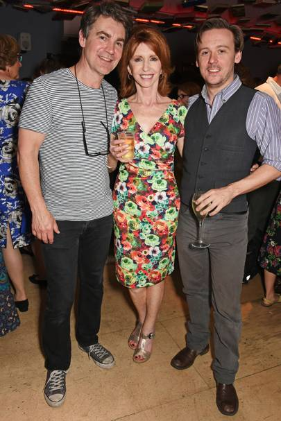 Alexander Hanson, Jane Asher and Antony Eden