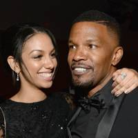 Corrine Foxx and Jamie Foxx