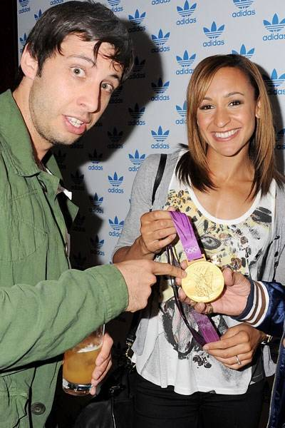 Example and Jessica Ennis