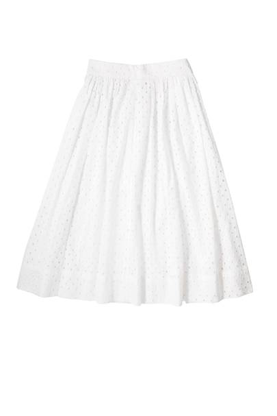 Cotton skirt, £295, by Kate Spade New York