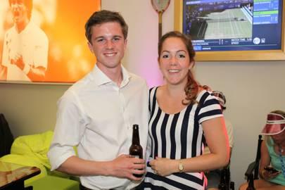Hanna Wiedermann and Tom Hannah