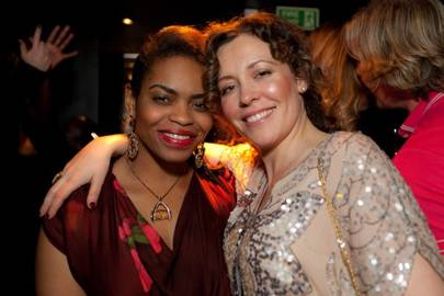 Juliet Andrew-Orji and Maria Ramos