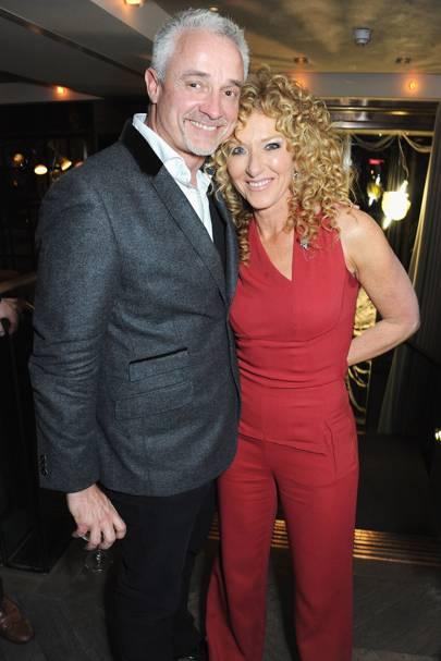 John Gardiner and Kelly Hoppen