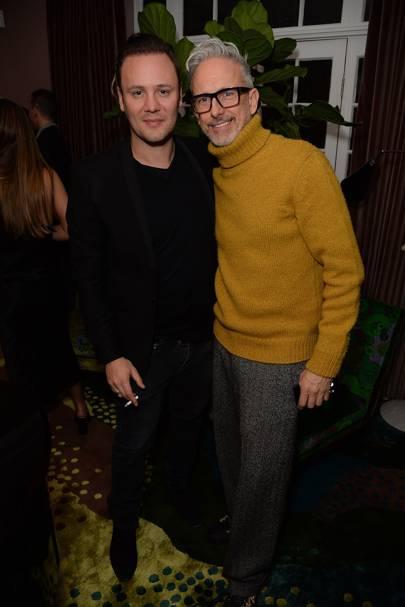 Nicholas Kirkwood and Patrick Cox