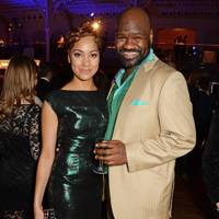 Cush Jumbo and Chris Jarman