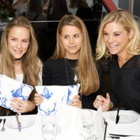 Hum Fleming, Irene Forte and Chelsy Davy