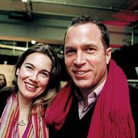 Ylva Baeckstrom and Toby Mott