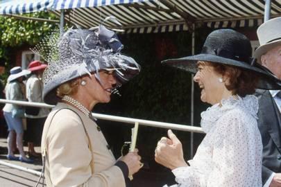 Lady Renouf and Lady Howard de Walden