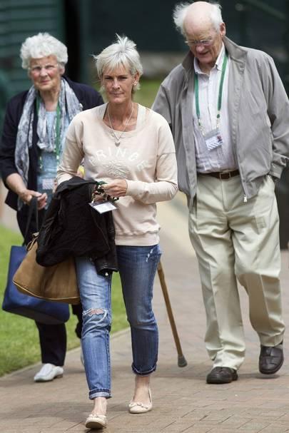 Shirley Erkine, Judy Murray and Roy Erkine
