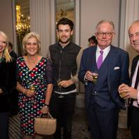 Anneka Rice, Hilary Amanda Jane, Jack Whitehall, Michael Whitehall and Gyles Brandreth