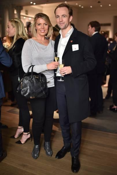 Antonia Kenning and Rupert Cadbury