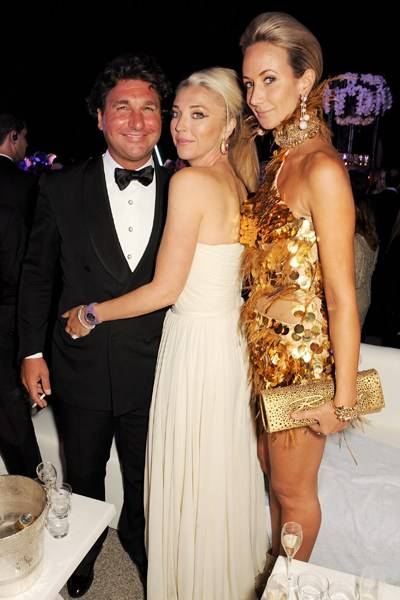 Giorgio Veroni, Tamara Beckwith and Lady Victoria Hervey