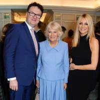 Ewan Venters, Camilla, Duchess of Cornwall and Tess Daly