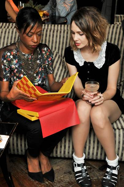 Nikki Amuka-Bird and Tuppence Middleton