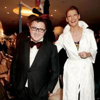 Alber Elbaz and Linda Evangelista